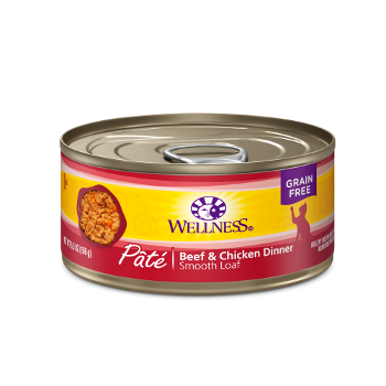 Wellness® Complete Health™ Pâté Beef & Chicken Recipe Cat Food