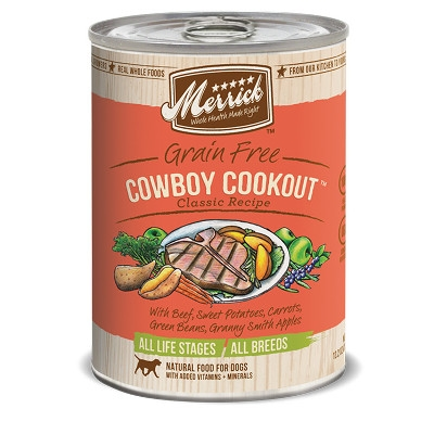 Merrick Cowboy Cookout™ Canned Dog Food