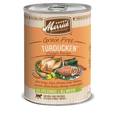 Merrick Gourmet Entrée Turducken™ Canned Dog Food