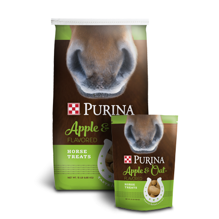 Purina Apples & Oats Horse Treats
