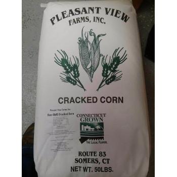 Pleasant View Non GMO CT Grown Cracked Corn 50 lb