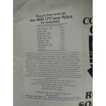 Pleasant View Non GMO CT Grown Layer Pellets 50 lb