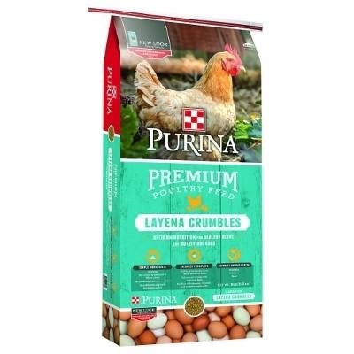 Purina Layena Crumbles, 50 lbs.