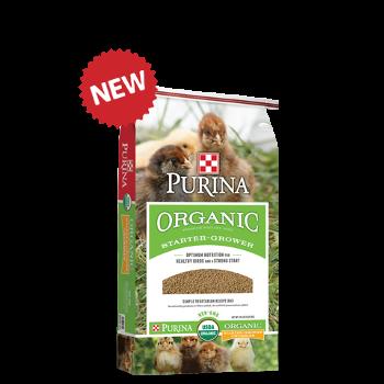 Purina® Organic Starter-Grower Feed