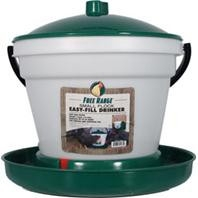 Free Range EZ Fill Plastic Poultry Waterer - 3.5 Gallons