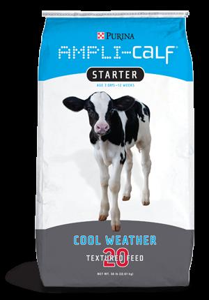 Purina AMPLI-CALF® Starter 20 - Pellets