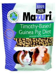 Mazuri Timothy Based Guinea Pig Diet, 25 lbs.