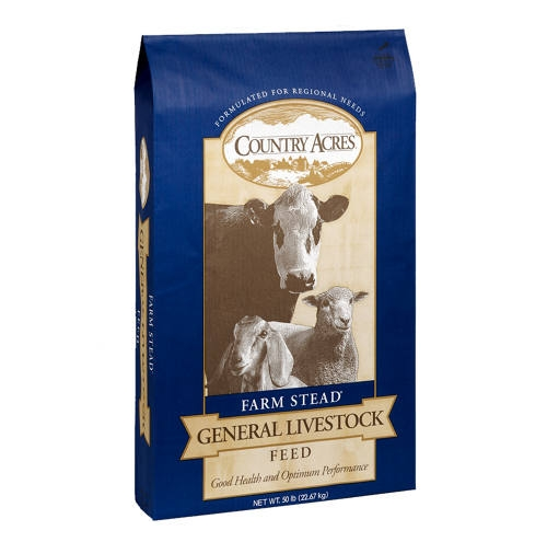 Country Acres® 16% All Stock Textured Feed