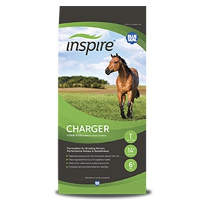 Blue Seal® Inspire Charger® Textured Horse Feed