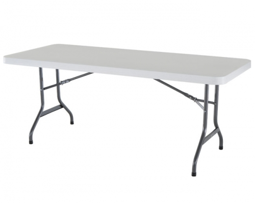 Six Foot Poly Table