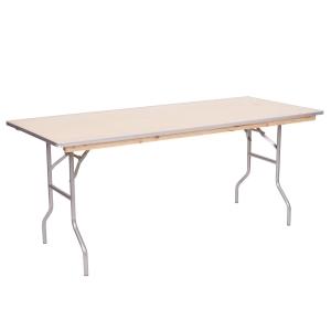 PRE 6' Wood Table