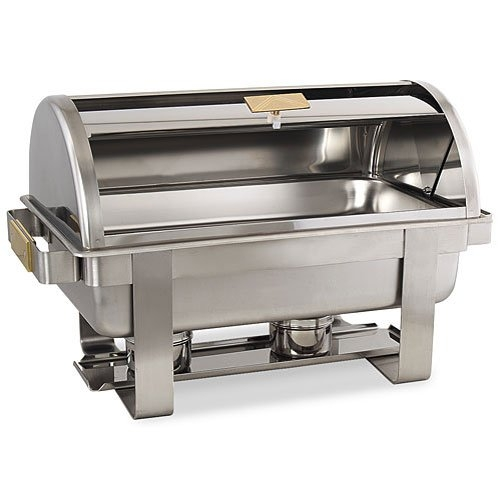 Chafer 8 Qt Stainless Roll Top