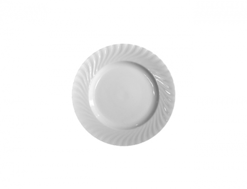 Bread & Butter Plate Regina All White