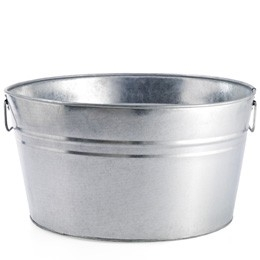 Galvanized Tub