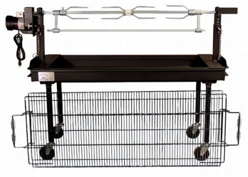 Grill Charcoal Rotisserie (2ftx5ft)