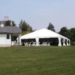 Navi-Trac 40'x40' Frame Tent