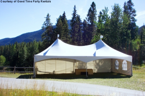 Warner Shelter, 20'x40', High Peak Marquee Tent