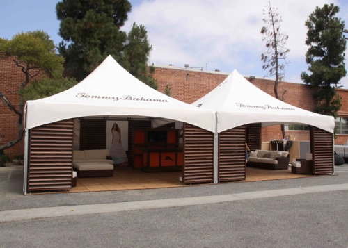 Warner Shelter, 20'x20', High Peak Marquee Tent