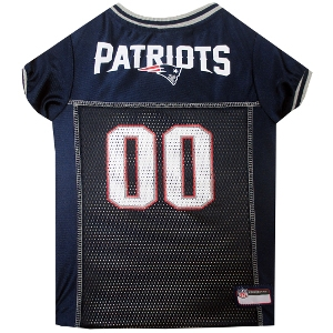 New England Patriots Mesh Pet Jersey