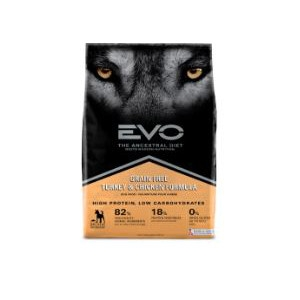 EVO Turkey & Chicken Formula Large Bites Dog Food