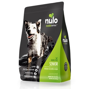 Nulo™ MedalSeries™ Chicken & Lentils Dry Senior Dog Formula
