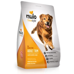 Nulo FreeStyle™ Salmon & Peas Dry Adult Trim Formula
