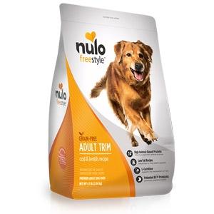 Nulo FreeStyle™ Salmon & Peas Dry Adult Trim Formula