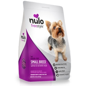 Nulo FreeStyle™ Salmon & Red Lentils Dry Small Breed Formula