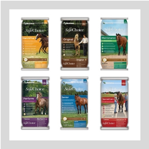 Buy 4 Get 1 Free on Nutrena SafeChoice Equine Feed