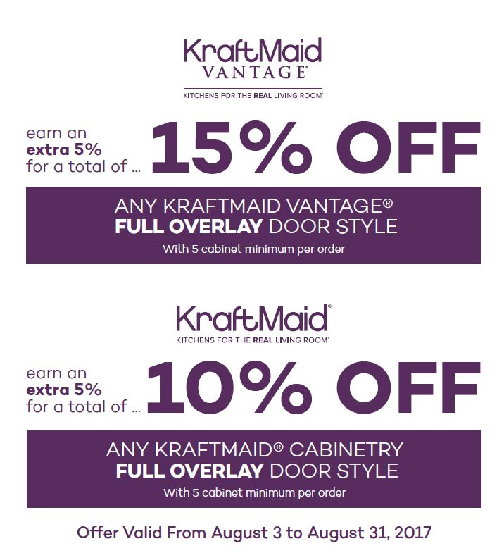 kraftmaid extra savings