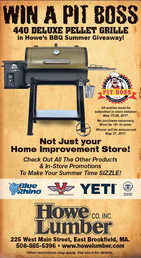 pellet grill giveaway