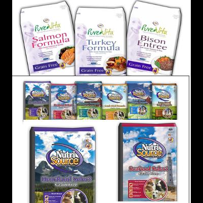 PureVita & NutriSource Dog Food