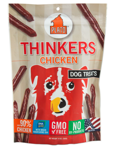 Plato Chicken Thinkers Dog Treats