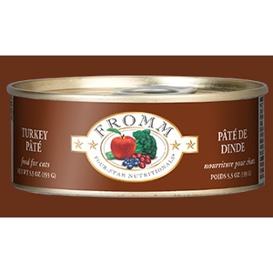 Four-Star Turkey Pate for Cats