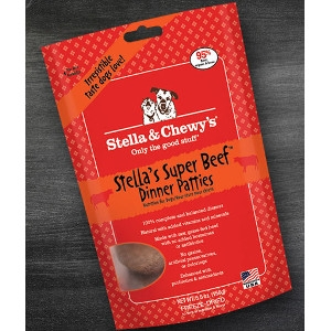 Stella's Super Beef Freeze-Dried Dinner Patties