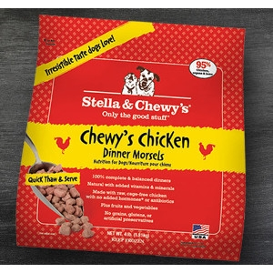 Chewy's Chicken Frozen Dinner Morsels