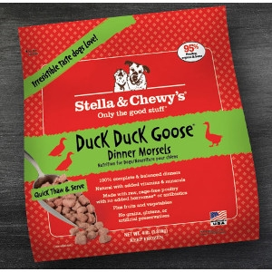 Duck Duck Goose Frozen Dinner Morsels