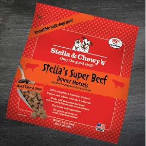 Stella's Super Beef Frozen Dinner Morsels