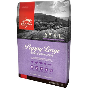 Orijen Puppy Food For Large Breed Puppies, 25 lbs.