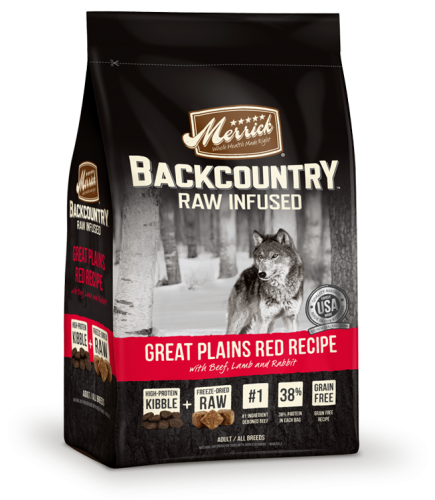 Merrick Backcountry Raw Infused Great Plains Red Recipe
