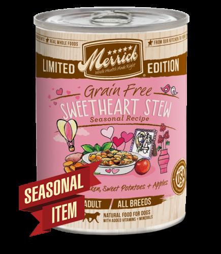 Merrick Seasonal Grain-Free Sweetheart Stew Canned Dog Food