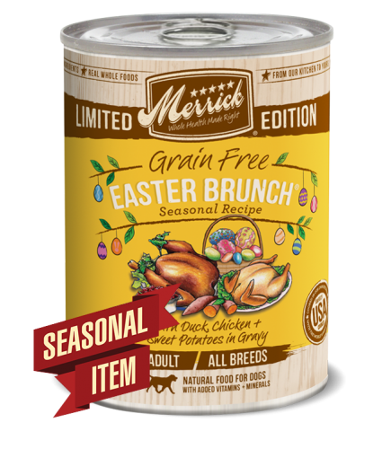 Merrick Seasonal Grain-Free Easter Brunch Canned Dog Food