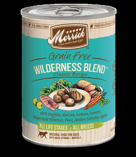 Merrick Grain-Free Wilderness Blend Canned Dog Food