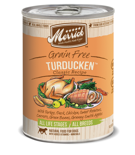 Merrick Grain-Free Turducken Canned Dog Food