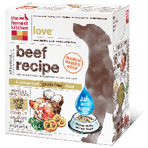 The Honest Kitchen Love Grain-Free Dehydrated Dog Food