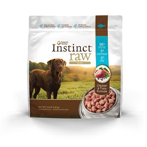 Instinct Raw Frozen Bites Chicken & Tuna for Dogs