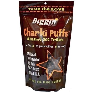 Diggin Charki Puffs Amazing Dog Treats