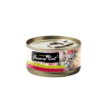 Fussie Cat Tuna with Ocean Fish Canned Cat Food, 2.82 oz.