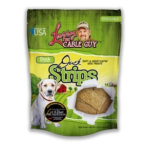 Larry The Cable Guy Good Ole Boy Duck Strips Dog Treats, 16 oz.