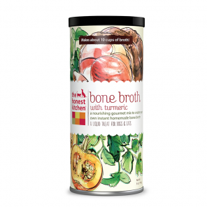 The Honest Kitchen Bone Broth with Turmeric Liquid Treats for Dogs & Cats